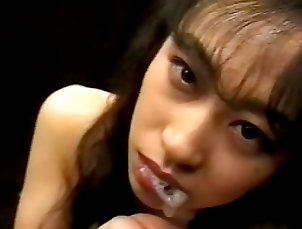 Japanese,Bukkake,Group sex,Stockings,Blowjob,Cum swapping,Asian,Hardcore,Cum in mouth,Straight Asian babe swallowing tasty loads