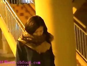 Chinese;Public;Bondage Chinese Girl in Bondage Vibrated to...
