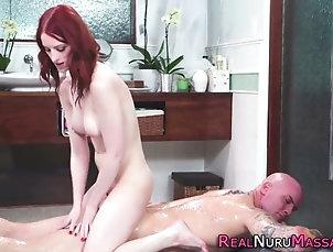 massage;asian;hardcore;redheads;lingerie;hd;tits;babes Tiny tits massaging babe bangs