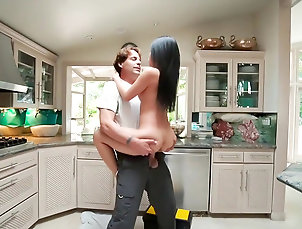 Top kitchen fuck play with hot Asian Cindy Starfall Top kitchen fuck play with hot Asian...