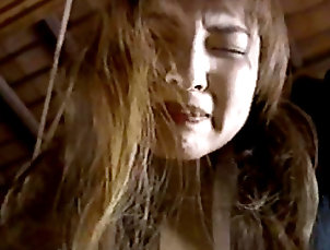 BDSM,Japanese,Schoolgirl,Blowjob,Asian,Pussy licking,Gagging,Punishment,Bondage,Pain,Straight Asian slut gets nailed in BDSM