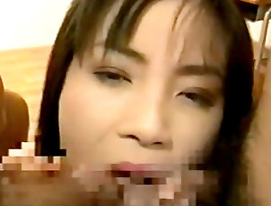 Asian beauty covered in warm cum Asian beauty covered in warm cum