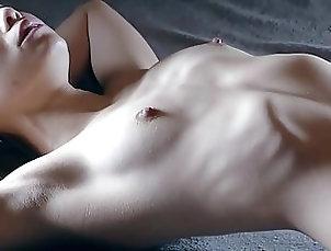 Skinny girl shows her ribs 2 Skinny girl shows her ribs 2