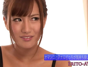 Japanese bikini model toyed in pussy and ass Japanese bikini model toyed in pussy...