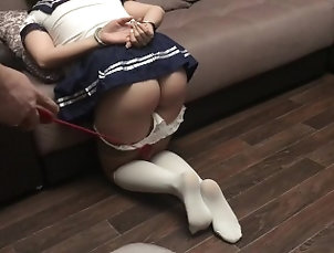 Spanking schoolgirl slave girl in handcuffs slut Spanking schoolgirl slave girl in...