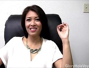 Asian;Blowjobs;MILFs;Glory Holes;Cum in Mouth;Gloryhole Voyeurs;HD Videos;Asian MILF Blowjob;MILF Gloryhole;Gloryhole;Asian MILF Asian Milf Gloryhole Interview Blowjob