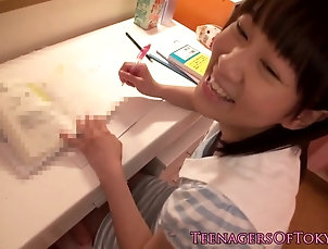 Fingered nippon teen cocksucking stepdad Fingered nippon teen cocksucking stepdad