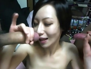 Asian;Skinny;Cum in Mouth Asian MMF