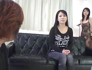 Asian;Japanese;MILFs;Jav HD;Brunette Fuck;Hard Fuck;Hard Saya Fujimoto, brunette bitch, wants...