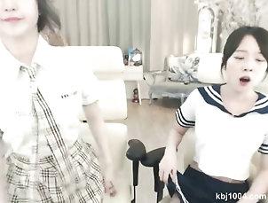 striptease;korean Koreans go topless very hot