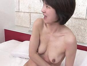 MILFs;Blowjobs;Threesomes;Brunettes;Creampie;Hairy;Tits;Sex Toys;Japanese;HD Videos;Short Hair;Short Time;Two Cocks;Short Short hair MILF can handle two cocks...