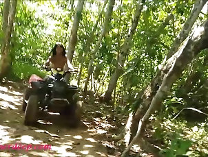 teen heather goes atving in paradise and gets huge throatpie teen heather goes atving in paradise...