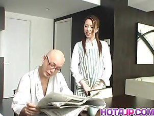 Tomoe Hinatsu rides boner Tomoe Hinatsu rides boner