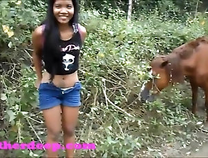Asian;Teens;Deep Throats;Heather Deep;Pee Heather Deep on ATV need to pee next...
