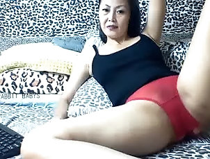 Amateur;Asian;Lingerie;Old+Young;Red Panties;In Panties;Panties Mature In Red Panties
