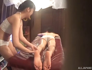 hardcore;reality;massage;asian;panties;oil;ass-licking;handjob;blowjobs;doggy-style;fingering;cowgirl;japanese Yet another massage-lady from japan...