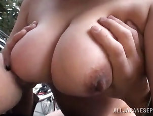 matures;asian;chubby;riding;outdoor;orgasms Chubby mature asian rides a hard dong...