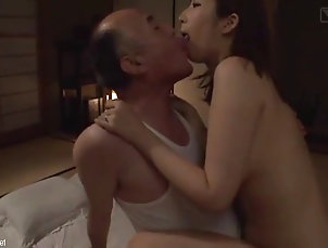 asian;big-butt;japanese Lucky grandpa with rina ayana