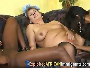 interracial;lesbian;asian;fingering;softcore Older dyke takes advantage of exotics