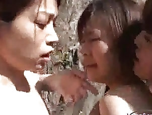 Outdoor;Lesbian;Japanese,Japanese,Lesbian,Outdoor 4 Asian Girls Sucking Nipples Rubbing...