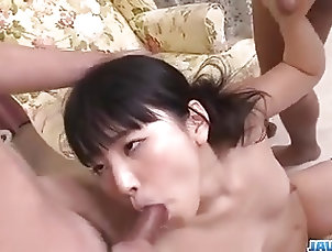 Asian;Blowjobs;Teens;Japanese;Threesomes;Jav HD;Blow Bang;Amazing;Swallows Tsuna Kimura swallows after amazing...